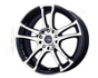 Mellifluous Metal Venom 17x7.5  4x100/114  40mm Gloss Black Machined