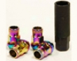 Mackin Industries Sr35 Open End Racing Lug Nuts M12x1.25 Neoh