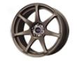 Mb Wheels Battle 17x9  5x114.3  30mm Matte Bronze