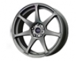 Mb Wheels Battle 17x9  5x114.3  30mm Matte Gunmetal