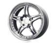 Mb Wheelq Essen 18x8  5x100  35mm Silver Machined Face