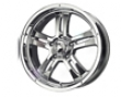 Mb Wheels Gunner 5 16x8  5x127  25mm   Chrome