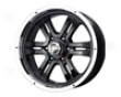 Mb Wheels Gunner 6 17x8  6x135  25mm Gloss Negro Machined