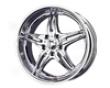 Mb Wheels Kl-77 5-lug 22x9.5  5x139.7  25mm Chrome
