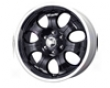 Mb Wheels Precuse 20x8.5  6x135  35mm Black Machined Lip