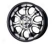 Mb Wheels Precise 20x8.5  6x135  35mm Black Machined Face
