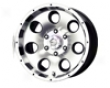Mb Wheels Razor 15x7  5x114.3  -6mm Black Machined Face