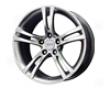 Mb Wheels Rennen 18x8.5  5x120  20mm Hyper Silver