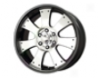 Mb Wheels Palliate 20x8.5  6x139.7hr  18mm Black Mzchined Face