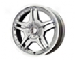 Mb Wheels Tuscon 17x7  5x100/114 .3  38mm Silver Machined