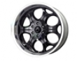 Mb Wheels Yuma 20x8.5  5x139.7  18mm Gloss Dismal Machined