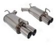 Megan Racing Axle Back Exhaust Infiniti M35 06+