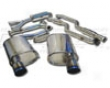 Megan Racing Cat Back Exhaust Lexus Is250 06+