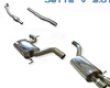 Milltek Catback Exhaust Resonated Volkswagen Jetta V 2.0t 06+