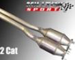 Milltek High Flow Cat Assembly Audi Tt 3.2 Mk1 00-06