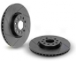 Neuspeed Slotted Rotors - Face Pair Left-right Volkswagen Golf 2.0l Tdi Vi 10+