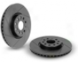 Neuspeed Slotted Rotors - Front Pair Left/rght Volkswagen Golf Golf 2.0l Tdi Vi 10+
