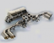 Novutec Stainless Steel Exhaust System With Flap Regulation Ferrari Scuderia F430 04-09