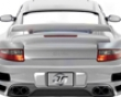 Nr Auto Gt Rear Full glass With Carbon Diffuser Porsche 997tt C4 & C4s 05+