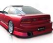 Source Aggressive Rear Bumper Nissan 180sx