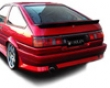 Origin Stylish Rear Bumper Toyota Corolla Levin 84-87