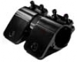 Piwa Aluminum Black Tubular 2.5 In Mounting Kit