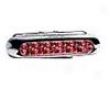 Piaa Deno-3 Red Rear Fog Lamp 6 Red Led&#39s Single Lamp