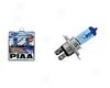 Piaa H4 Xtreme White Plus 60/55w=135w/125w Bulb Single Pack