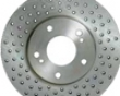 Porsche Oem Iron Drilled Front Rot0rs For 6piston 996 Gt2 Gt3 Calipers