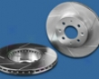 Power Slot Front Left Cryogenic Slotted Rotors Mercedes-benz C230 W202 W203 99-02