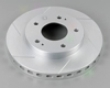 Power Slot Rare Right Cryogenic Slotted Rotors Mitsubishi Eclise Gst Fwd Turbo 94-99