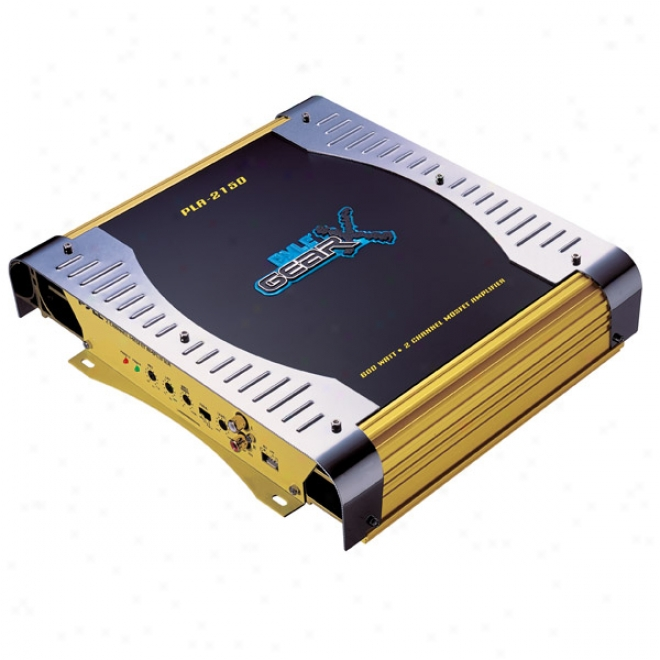 Pyle Gear-x Series 2-channel Bridgeable Mosfst Amplifier  -300w X 2 Channels