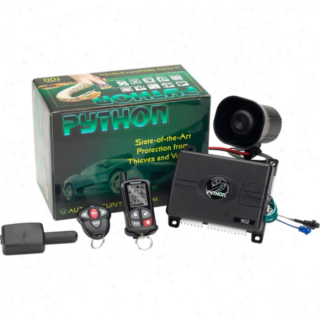 Python Responder 2-way Led Advanced Sefurity System