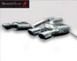 Quicksilver Sports Rear Silencers Maserati Granturismo 07+