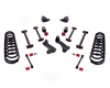 Rancho Suspension System 4in- 2.5in Lift Black Finish Dodge Ram 2500 Diesel 06-07