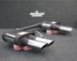 Remus Quad Outlet Duplex Left & Right Exhaust System Audi S5 4.2l Fsi V8 8t 07+