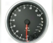 Revolution 4 Inch In-dash Tachometer 10,000 Rpm With Memory