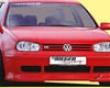 Rieger Carbon Look Dtm Splitter For R-rx Front Bumpers Volkswagen Golf Iv 99-05
