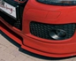 Rieger Carbon Look Dtm Straight Bended For Front Lip Volkswagen Golf Gti V 06+