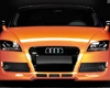 Rieger Carbon Look R-frame Front Plate Bracket Audi Tt Mk1 00-06