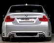 Rieger Carbon Look Rear Appron With Mesh Bmw E90 Sedan 06-08