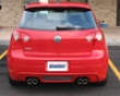 Rieger Carbon Look Rear Skirt VolkswagenG olf Gti V Us Spec 06+