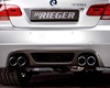 Rieger Carbon Look Rear Skirt By the side of Mesh Bmw E92 & E93 335i 07+