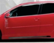 Rieger Carbon Look Right Side Skirt Volkswagen Golf Gti V 2dr 06+