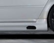 Rieger Carbon Look Right Side Skirt With Air Intake Audi A6 C5 4b 98-04