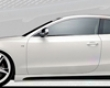 Rieger Carbon Look Right Side Skirt With Air Intake Audi A5 & S5 B8 08+
