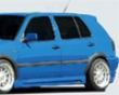 Rieger Carbon Look Right Side Skirt With Air Intake Volkswagen Golf Iii 93-99