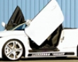 Rieger Carbon Look Right Side Skirt With Ducts & Recess Audi Tt 8j 07+