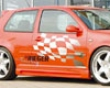 Rieger Carbon Look Rs4 Left Indirect Skirt With Air Intake Volkswagen Golf Iv 99-05