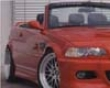 Rieger M3 Look Front Bumper With Mesh Bmw E46 Cabrio &xoupe 00-03